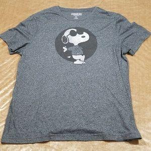 Peanuts - Joe Cool - Snoopy - Mens T-shirt - XL